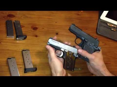 Sig Sauer P938 vs P238 weight and size difference.