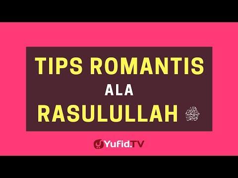 Tips Romantis Ala Rasulullah Shallallahu 'alaihi Wasallam – Poster Dakwah Yufid TV