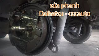 Sua chua o to tai CCC Auto| Sửa pititong phanh xe siêu gọn Daihatsu