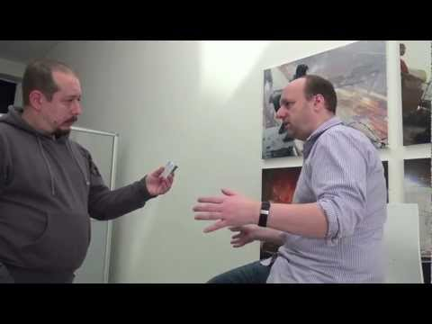 Interview with David Cage & Quantic Dream Studio Tour