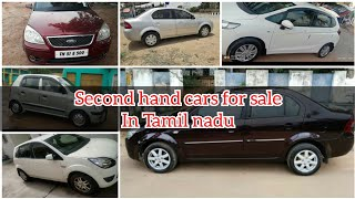 Second hand cars in Tamil nadu    used cars    used cars for sale in Tamil nadu