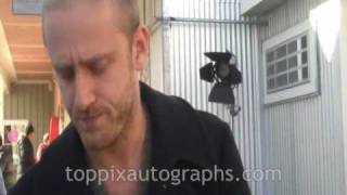 Ben Foster - Signing Autographs at the Sundance Film Festival in Park City, Utah