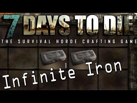 7 Days to Die — Easy UNLIMITED IRON — Metal Trussing Exploit | Docm77