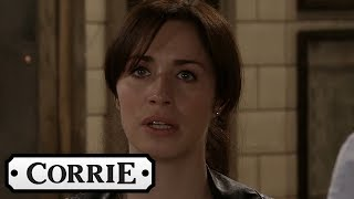 Coronation Street - Shona Finds Out About David and Natalie's Kiss