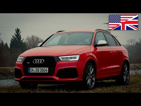 2015 Audi RS Q3 2.5 TFSI 340 hp Facelift - Start Up. Exhaust. Test Drive and In-Depth Review