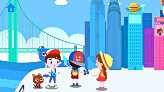 Kids explore the United States of America with Eric & Bruce ⭐️ Educational Game App