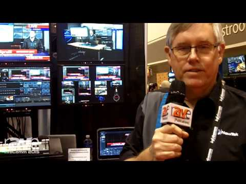 InfoComm 2015: NewTek Shows TriCaster Mini Video Content Creation System