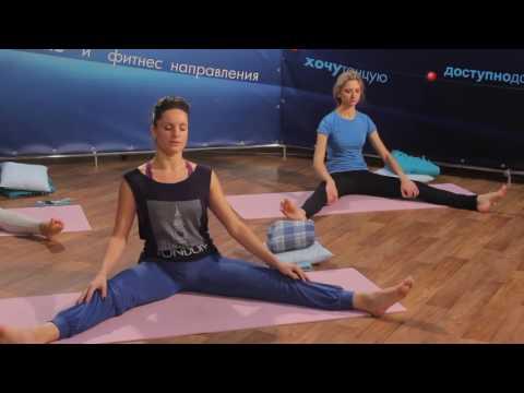 ЙОГА для ЖЕНЩИН урок 5 из 30 | Курс для НАЧИНАЮЩИХ на канале timestudy ru!