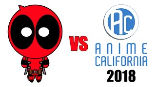 Deadpool vs Anime California 2018