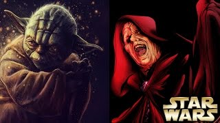 How Palpatine Reacted to Yoda