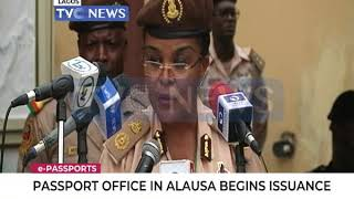 Passport Office in Alausa begins issuance of e-Passport