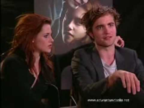 Twilight S Robert Pattinson And Kristen Stewart Joint Interview For