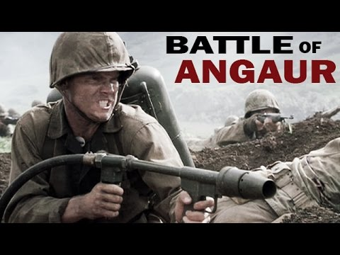 Battle of Angaur | 1944 | World War 2 in the Pacific | World War 2 Documentary