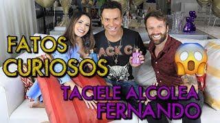 FATOS CURIOSOS DE TACIELE ALCOLEA E FERNANDO | #Club6Class #JuntosParaAcontecer #Eudora