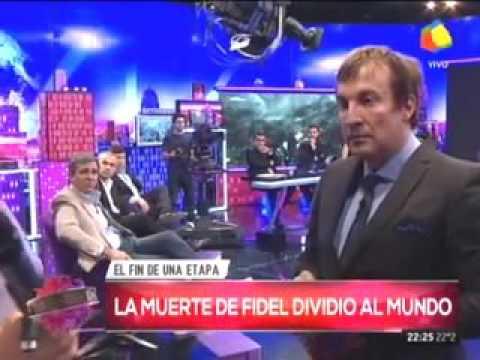 En Intratables debatieron sobre Fidel y un cubano abandonó el programa en vivo