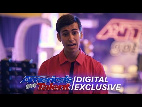 Axel Perez Laughs at Simon Cowell's Comments - America's Got Talent 2016 (Extra)