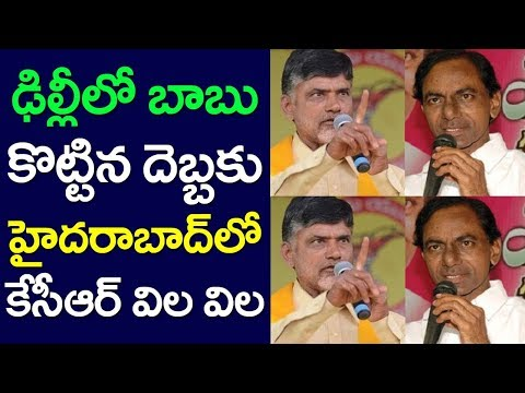 CM Chandrababu Naidu Attack On KCR, Telangana Election, TRS