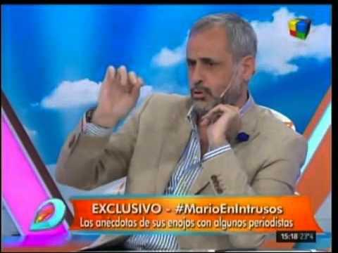 Mario Pergolini le revoleó un adoquín al auto de…