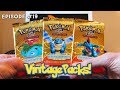 "VINTAGE PACKS! Episode #19 ""Expedition!"" Opening 3 Pokemon Expedition Base Set Booster Packs!"