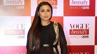 Rani Mukerji @ Vogue Beauty Awards 2015