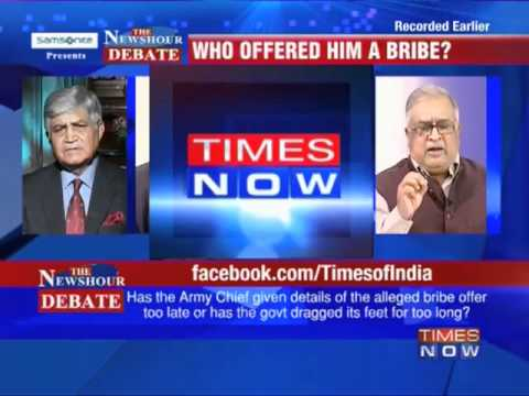 Debate: Army Chief's stunning charge-2