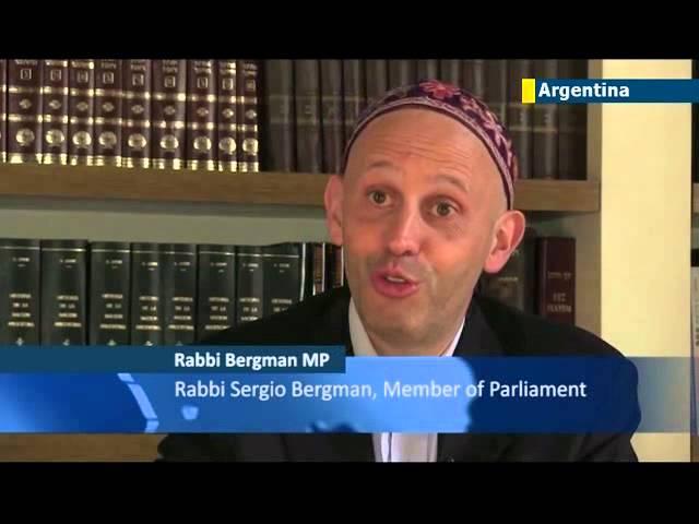 Rabbi elected to parliament: Rabbi Sergio Bergman makes history as Argentina's first rabbi MP
