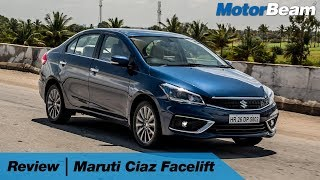 2018 Maruti Ciaz Facelift Review (4K) - Can It Fight City? | MotorBeam