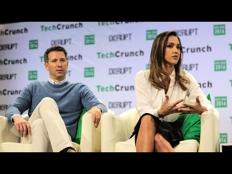 Jessica Alba and Chris Thorne Get Honest at TechCrunch Disrupt NY 2016
