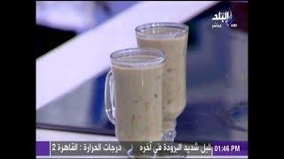 بالفيديو.. طريقة عمل مشروب الحلبة المغذي في الشتاء