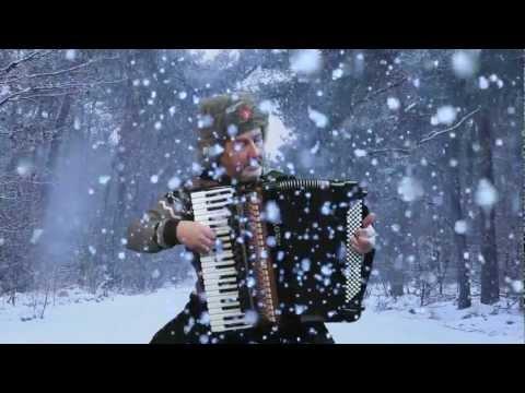 Russian accordion music Winter Yuri Petersburg - Jo Brunenberg - Acordeon Akkordeonmusik fisarmonica