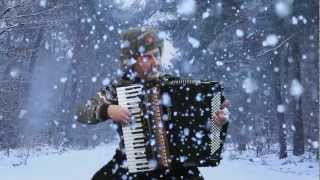 Russian accordion music Winter Yuri Petersburg - Jo Brunenberg - Acordeon Akkordeonmusik fisarmonica