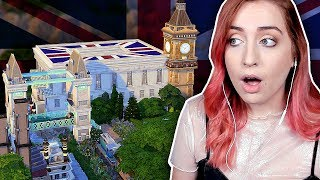 Someone Built LONDON in The Sims 4