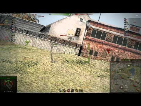 World of Tanks game with English Girls Und Panzer Voice Mod