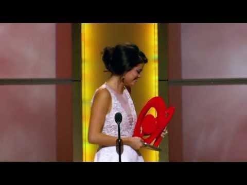 Selena Gomez  - Triple Play Award - Logo NewNowNext Awards - LogoTV