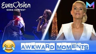 Eurovision Song Contest | The FUNNIEST & MOST AWKWARD moments 😂