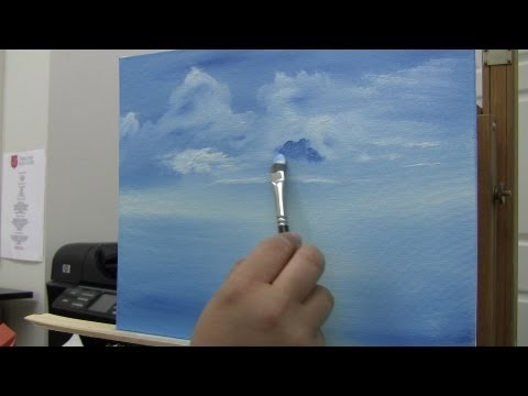 Learn To Paint Clouds