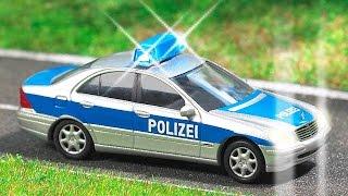 Bajki dla dzieci - Policyjny, Traktor, Wyścigówka, Samochody