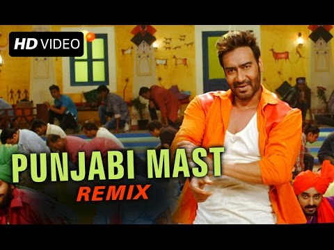 Punjabi Mast (Official Remix Song) | Action Jackson | Ajay Devgn & Sonakshi Sinha