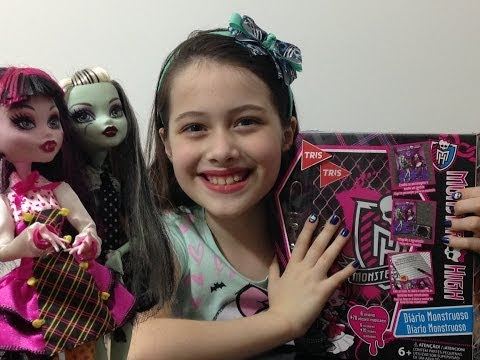 Review: Diário Monstruoso Monster High por Julia