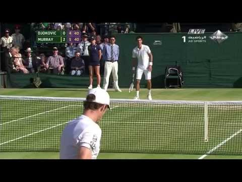 Andy Murray vs Novak Djokovic Wimbledon 2013 Mens Final  Last game  HD
