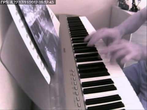jacques ibert . le petit ane blanc au piano P95S de yamaha