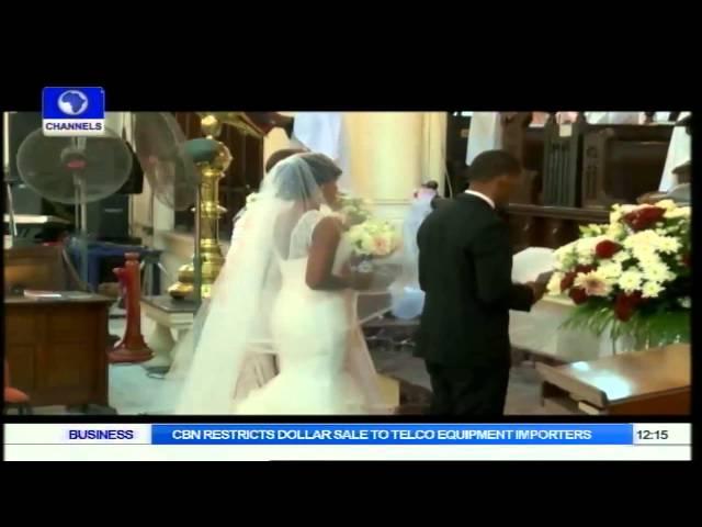 Metrofile: Toyin & Yinka Awoye's Beautiful Wedding In Lagos