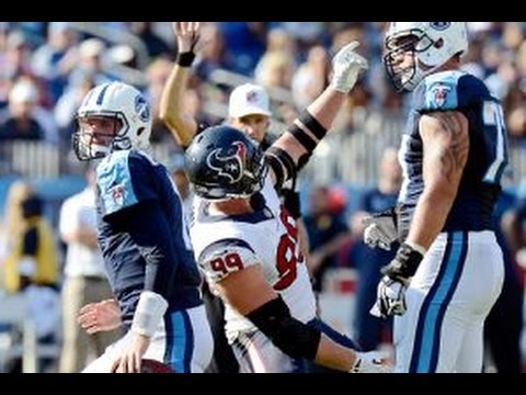 J.J. Watt Calls Out, Taunts Titans QB Zach Mettenberger over Pregame Selfies