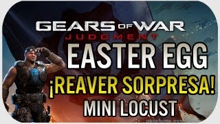 Gears Of War Judgment: Easter Egg - ¡Reaver Sorpresa!