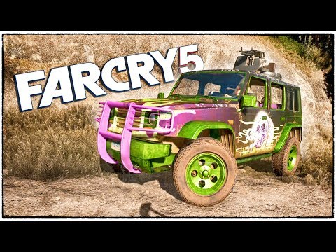 ВДВОЕМ НА ХАРДКОРЕ в Far Cry 5. Угнали крутой боевой внедорожник. (Far Cry 5 кооператив #2)