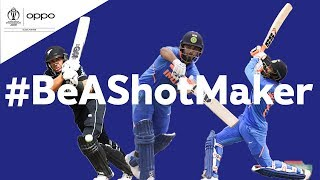 Oppo #BeAShotMaker | India v New Zealand - Shot of the Day | ICC Cricket World Cup 2019
