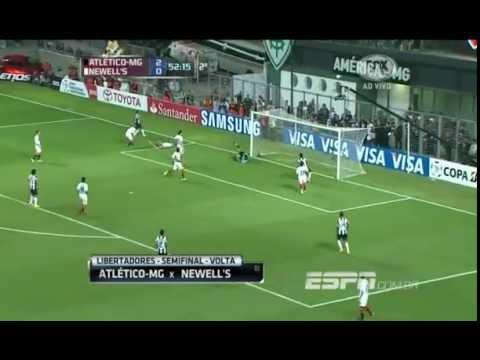 Atlético Mineiro 2 (3) - (2) 0 Newell's Old Boys Copa Libertadores 2013