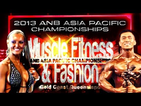 2013 Natural Bodz ANB Asia Pacific Championships Gold Coast Queensland