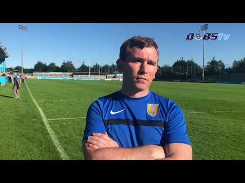 Na Fianna manager Niall Ó Ceallacháin speaks to Dubs TV after victory over Cuala