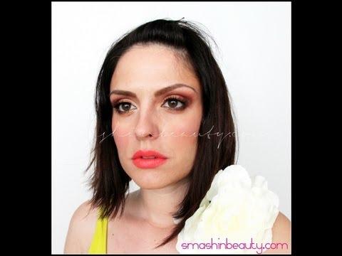 Golden Summer Goddess Makeup